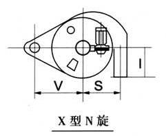 反吹风机与排风管接通除尘器示意图3