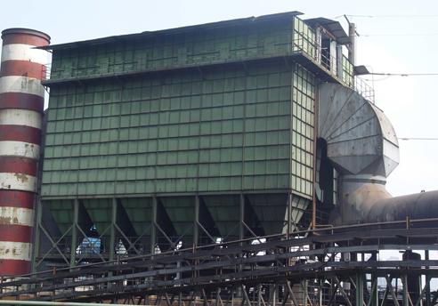 硅锰炉袋式除尘器