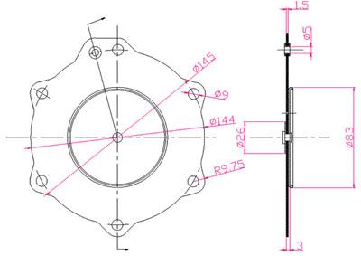 膜片等效集总电路